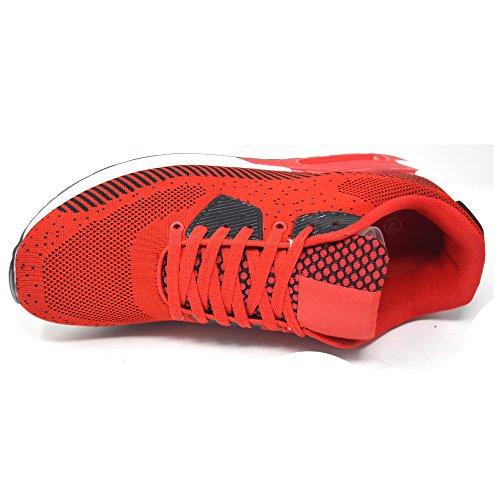 Basso Xelay Black Red A Collo Uomo FXZ76 40 Rosso EExzO1qwnr
