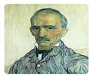Impressionism Personalized Design Rectangular Mouse Pad Old Man