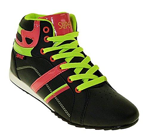 art 350 Hochschaft Sportschuhe Turnschuhe Sneaker Schuhe Schnürschuhe
