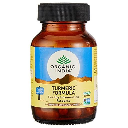 Organic India Turmeric Bottle - 60 Capsules