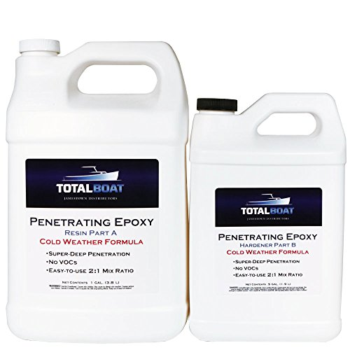 - TotalBoat Penetrating Epoxy (Gallon, Cold Weather)