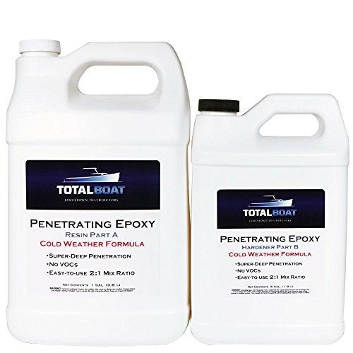 TotalBoat Penetrating Epoxy (Gallon, Cold - Mas Epoxy Fast