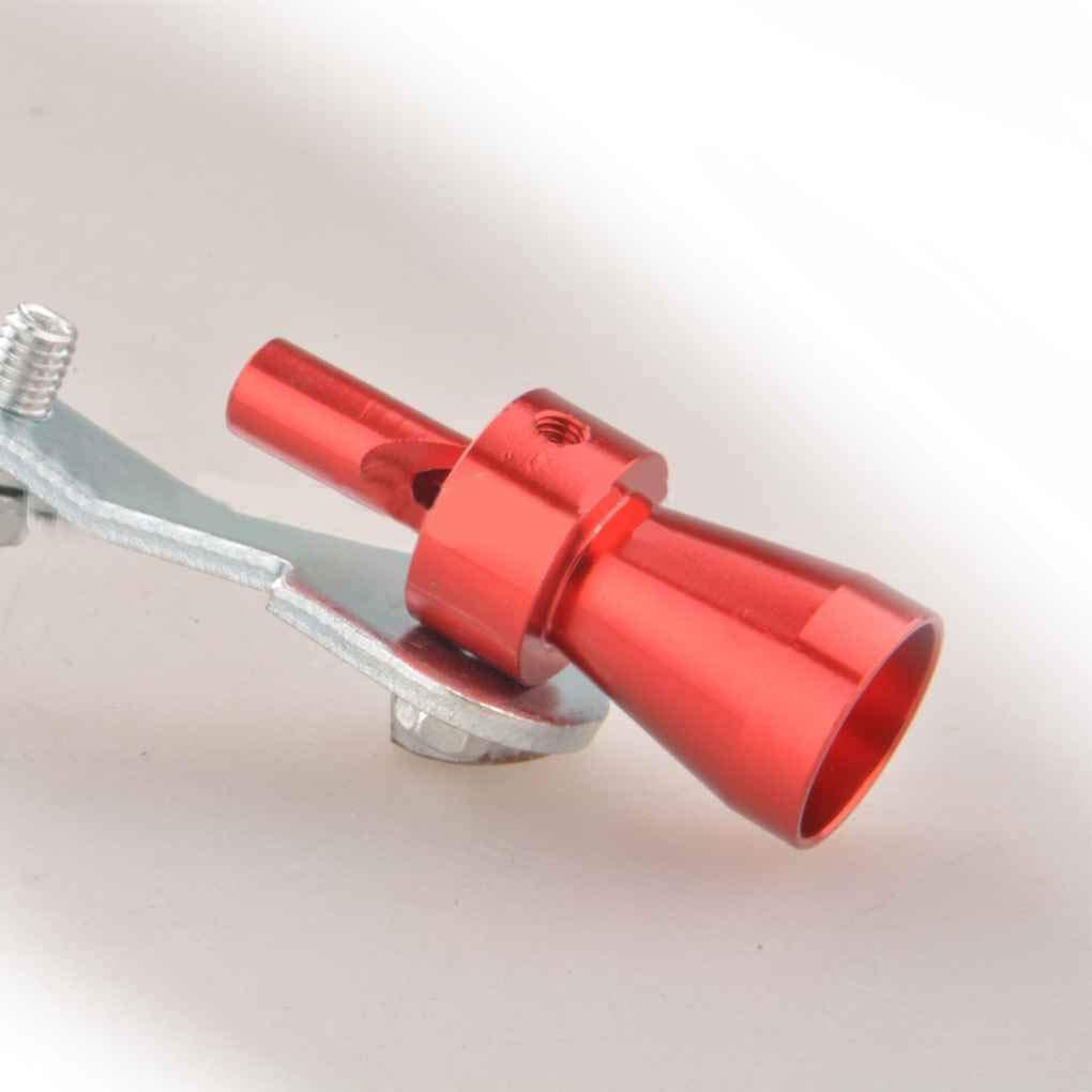 F-blue Universal Car Turbo Whistle Voiture R/éam/énagement Turbo Whistle Pot d/échappement Sound Turbo Tail