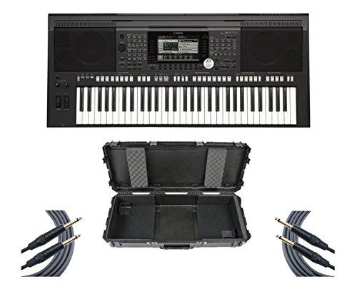 Yamaha PSR-S970 61-Key Arranger Workstation Keyboard + SKB