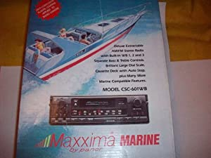 51KYXSQS8VL._SX300_ amazon com maxxima marine deluxe extractable am fm stereo maxxima marine stereo wiring diagram at gsmx.co