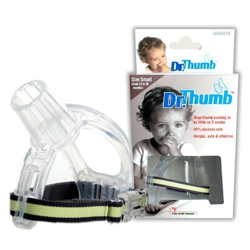 Stop Thumbsucking Thumb Sucking Kids Baby Child Finger Guard Protect (Small (from 12 to 36 month)) by Dr.Thumb