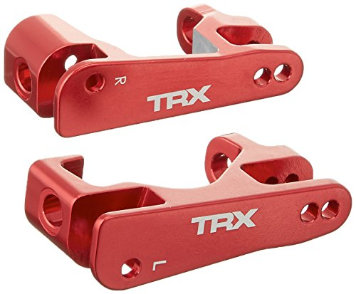 Traxxas 6832R Red-Anodized Aluminum Caster Blocks (pair)