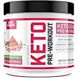 Ketogen Pre Workout Supplement - Promotes Healthy Weight Loss, Fat Burning and Boosted Energy Through Rapid Ketosis - Includes BHB Salts (Ketones) - Watermelon Chill - 237g - Sheer Strength Labs