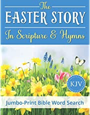 Jumbo-Print Bible Word Search: The Easter Story in Scripture & Hymns