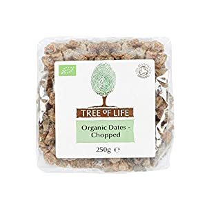 Tree of Life Organic Chopped Dates 250g - Pack of 2