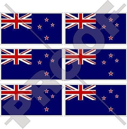 New Zealand Flag Sticker Decal Vinyl kiwi