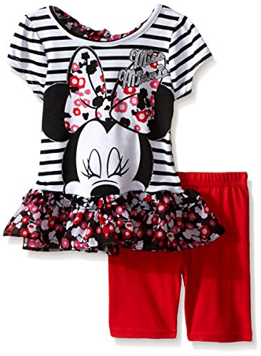 Disney Minnie Floral Chiffon Ruffle
