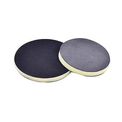"VOSAREA 6"" Clay Pad for Polisher,DA Polisher Pad,Pneumatic Clay Bar Pad for Polisher Clay Disc Foam Pad or Car Detailing Novel Detailing Tool Detailing Kit (Black): Automotive"