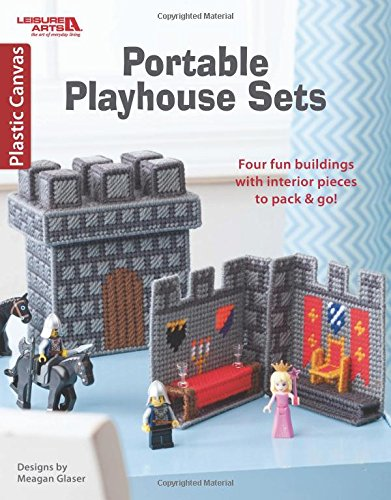Portable Playhouse Sets in Plastic Canvas | Leisure Arts (6732)