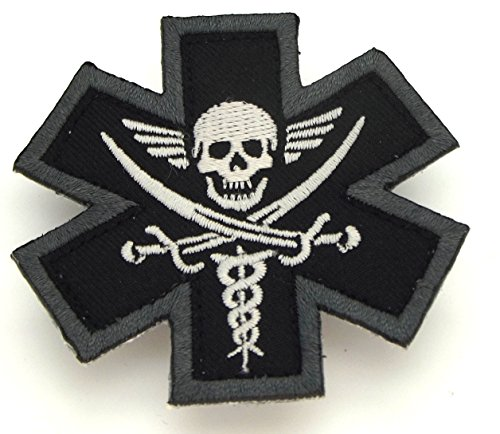 Tactical Medic Pirate Morale Patch (SWAT (Black))
