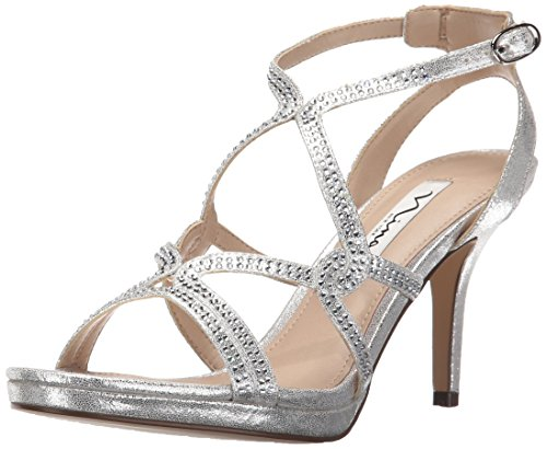 Nina Sandal Dress Varsha Silver Yf Women's Skylight qrfqOT4