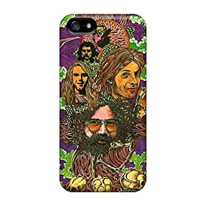 Protector Cell-phone Hard Covers For Iphone 5/5s With Allow Personal Design Trendy Grateful Dead Pictures ColtonMorrill