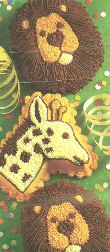 - Wilton Cake Pan: Mini Jungle Animals Treats - Lions/Giraffes (2105-2096, 1995)