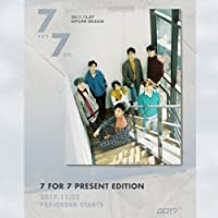 GOT7 [7 FOR 7 PRESENT EDITION] Random Ver CD+Photobook+Lyrics+3p Card+Tracking Number K-POP SEALED