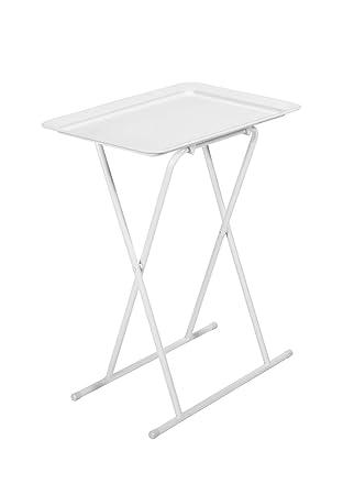 Klapptisch, Tisch, Weiß, Ideal für Das Essen Vor Dem Fernseher ...