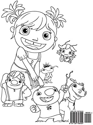 Wallykazam Wally Trollman Coloring Pages - Get Coloring Pages | 400x299