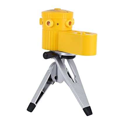 Set de nivel láser con trípode vertical para medición horizontal