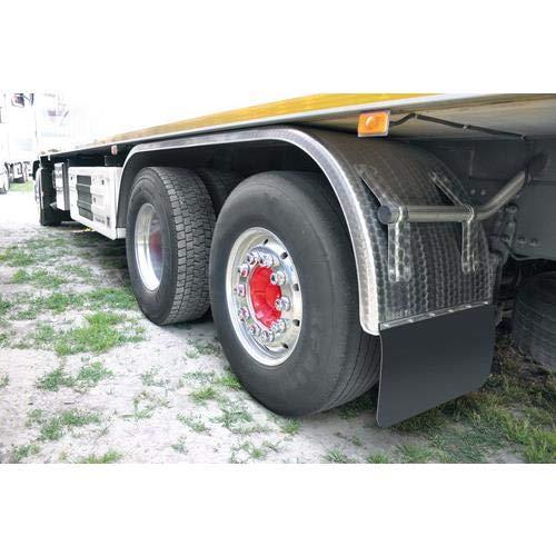 con accesorios peque/ños 40 x 30 cm Par de guardabarros de goma para camiones y furgonetas