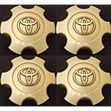 4 NEW REPLACEMENT 2003-2006 Toyota Tundra 03-07 Sequoia wheel center caps hubcaps SET 69940 Flat SILVER