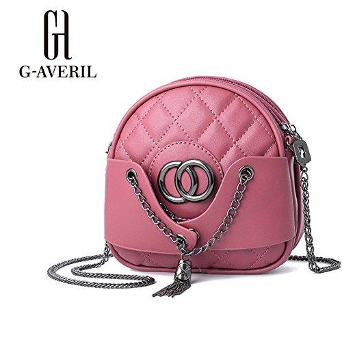G-AVERIL - Bolso de asas para hombre rosa rosa Rubber red