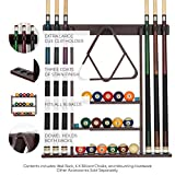 Billiards Xpress Pool Cue Rack - Pool Stick Holder