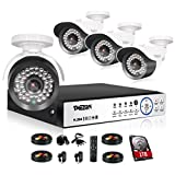 TMEZON 8 Channel 1080P AHD Security Cameras System w/4x HD 2.0MP Day Night vision Indoor/Outdoor CCTV surveillance Camera Quick Remote Access Setup Free App Including 1TB HDD Review