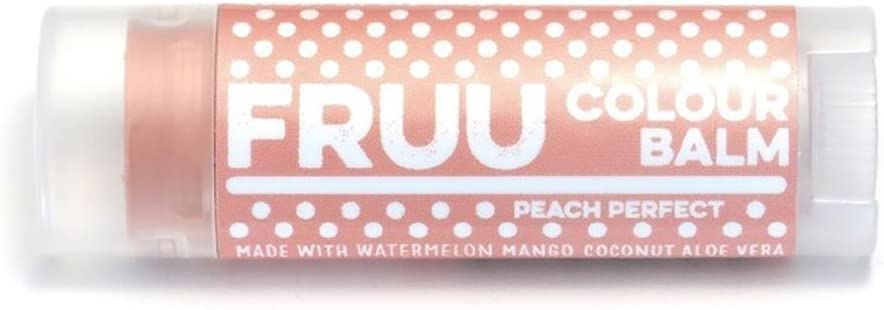 Fruu Organic Peach Perfect Colour balm