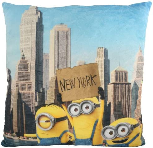 MINIONS Coussin New York Les