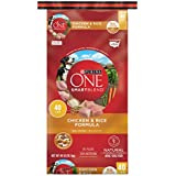 Purina One Smartblend Natural Chicken & Rice Formula Adult Dry Dog Food - 40 Lb. Bag