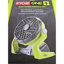 Ryobi 18-Volt/120-Volt One Plus Hybrid Fan [Bare Tool Only]