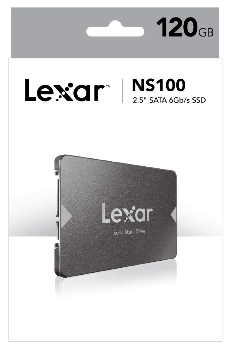 Lexar - Disco Duro Interno Ssd Lexar Ns100 Sata III 120Gb: Amazon ...
