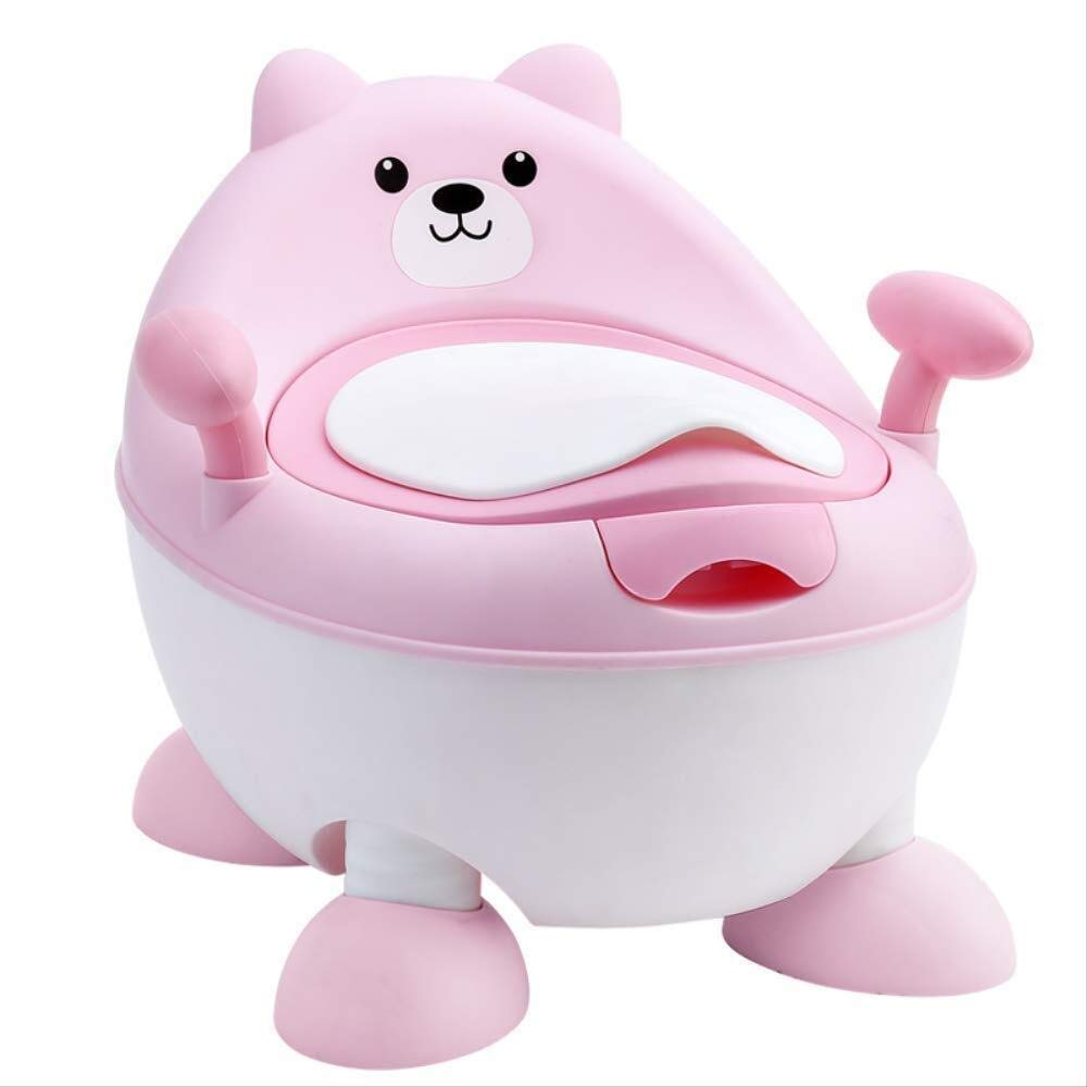 AMY-ZW Children's Potty Chair/with Cover Deodorant Easy to Clean Baby Toilet/Men and Women Baby Toilets Children Potty Training Baby Toilet Urinal by AMY-ZW