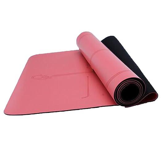 MEI Yoga Mat Verde Tasteless Yoga Mat Antideslizante para ...