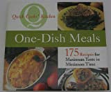 img - for One-dish Meals (Quick Cooks' Kitchen) book / textbook / text book