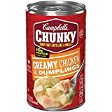 #3: Campbell's Chunky Soup, Creamy Chicken & Dumplings, 18.8 Ounce (Packaging May Vary)