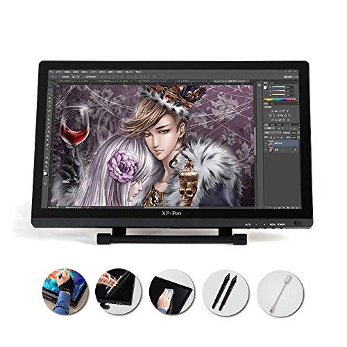 """XP - Pen 21.5""""液晶ペンタブレット HD IPS液晶 プロ向け 漫画 デザイン製図 拡張モード スタイラスペン サポートWindows Mac"""
