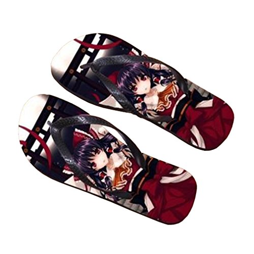 Bromeo TouHou Project Anime Unisex Flip Flops Chanclas 752