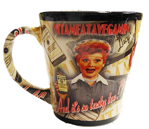 Used, I Love Lucy Mug Vitameatavegamin Collage for sale  Delivered anywhere in USA