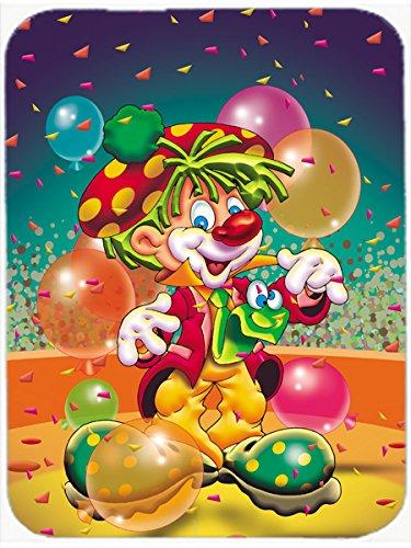 Caroline's Treasures Happy Birthday Clown Mouse Pad, Hot Pad or Trivet, Multicolor (APH1662MP) -