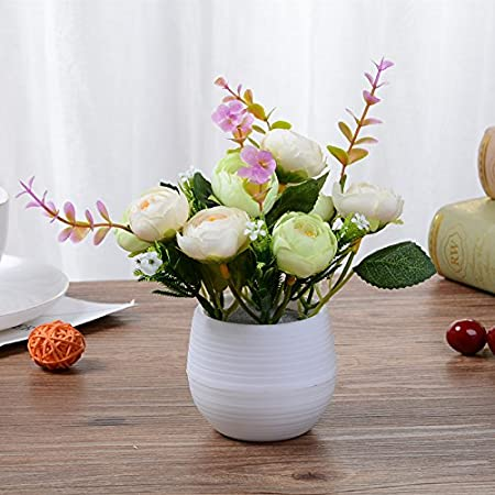 Admirable Jiale3536 Artificial Flowers Fake Flower Silk Flower The Home Remodeling Inspirations Cosmcuboardxyz