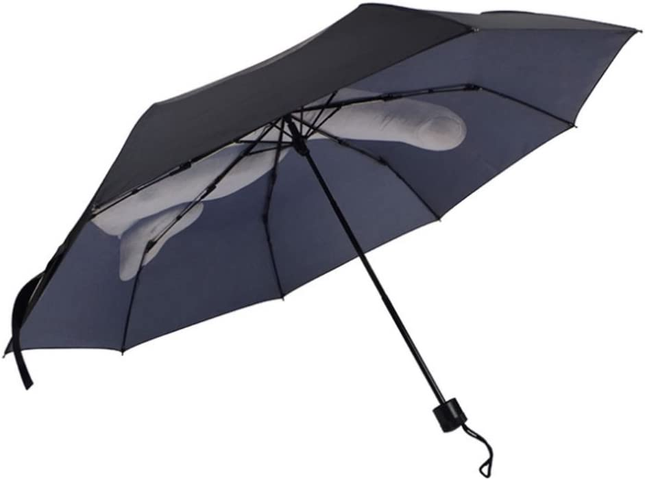 Funny Creative erect Middle Finger Folding Rain Umbrella Waterproof Gift New