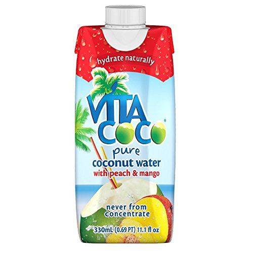 Vita Coco Coconut Water Peach product image