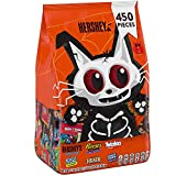 Hershey's Halloween Candy Cat Bag (450 ct.) Assorted chocolate and non-chocolate candies - Includes: Hershey's, Reese's, Twizzlers, Jolly Ranchers and Heath - NET WT 118.12 oz (7 LB 6.12 oz) 3.34 kg