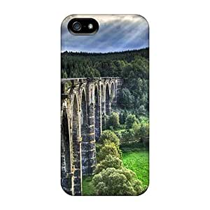 Hot Fashion UIU11268nFuy Design Cases Covers For Iphone 5/5s Protective Cases (wonderful Old Bridge Hdr)
