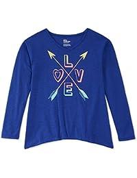 957d64a1a323 Girls' 7-16 Love & Arrows Long-Sleeved T-Shirt (X · Epic Threads
